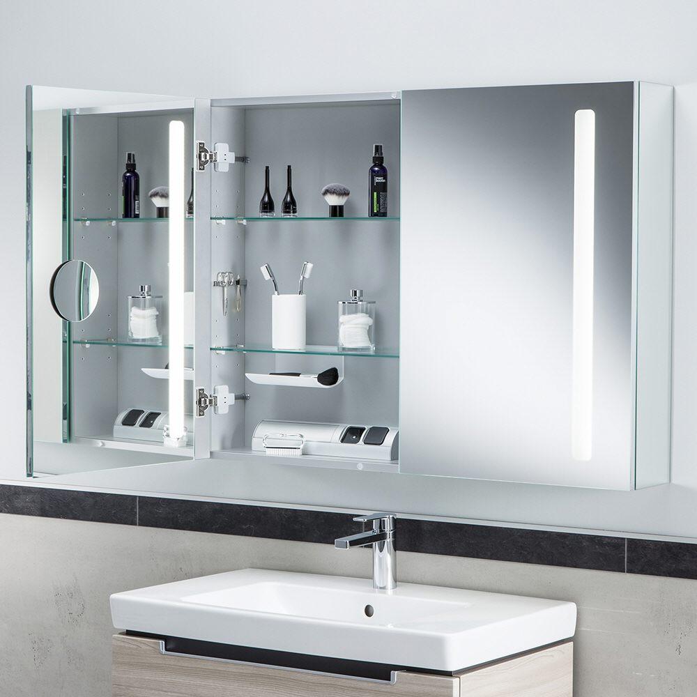 Spiegelschrank mit Beleuchtung - MEGABAD