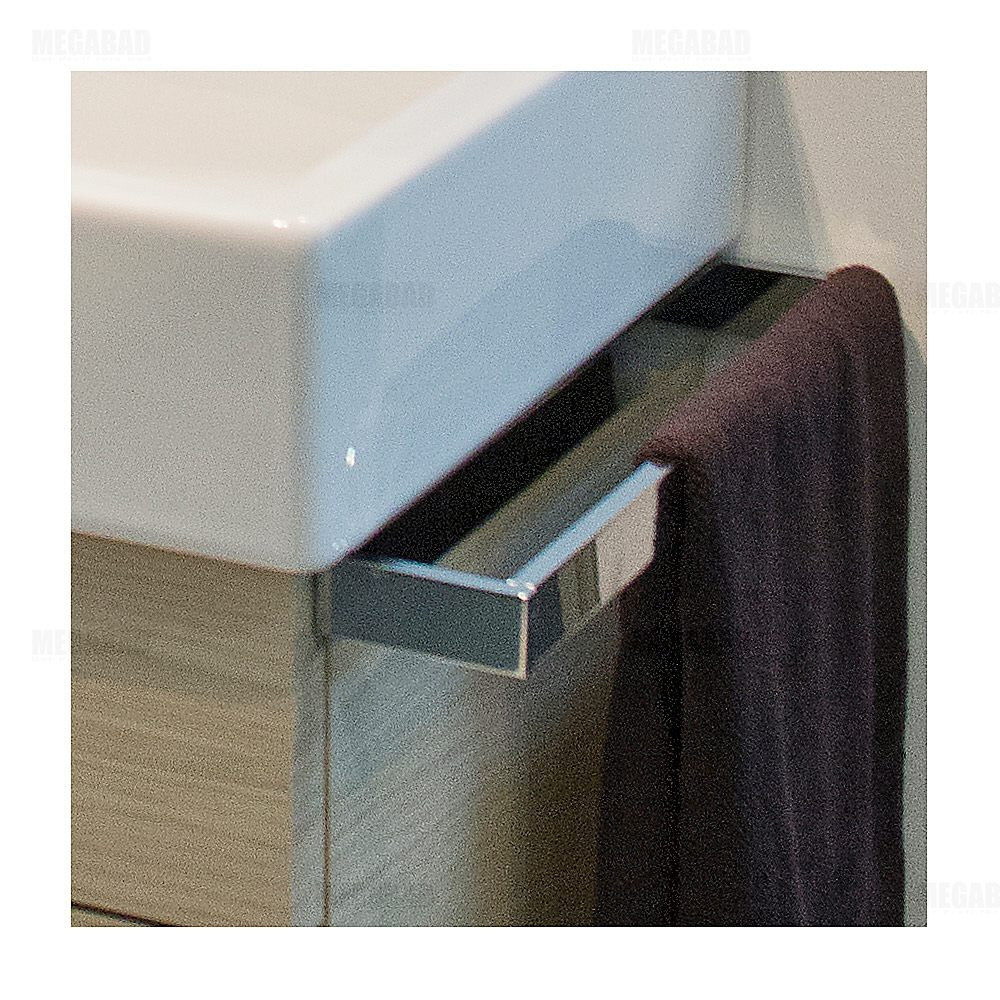 duravit vero handtuchhalter f r waschtischunterbau ve996200000 megabad. Black Bedroom Furniture Sets. Home Design Ideas