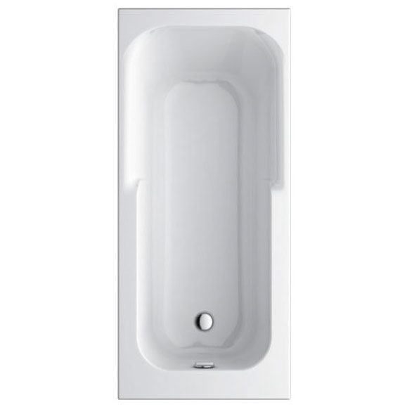 Ideal Standard Connect Playa Körperform-Badewanne 180 x 80 cm ...