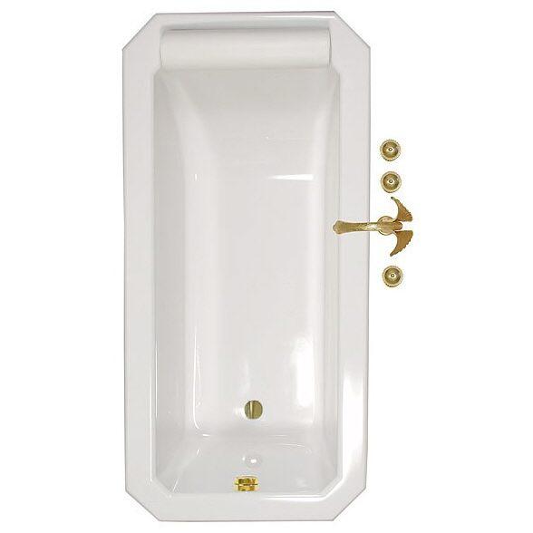 caribia roma 8 eck badewanne 175 x 85 cm roma inkl. Black Bedroom Furniture Sets. Home Design Ideas