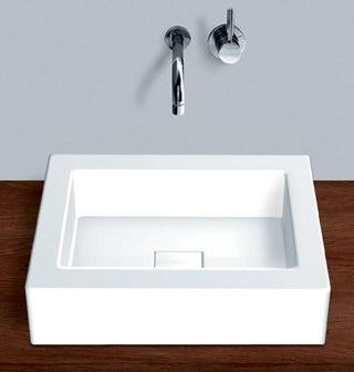 alape emaille aufsatzbecken ab q450 1 45 0 x 45 0 cm megabad. Black Bedroom Furniture Sets. Home Design Ideas