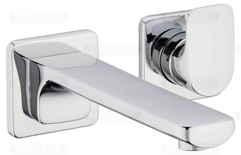villeroy boch cult waschtisch wand einhandbatterie mit einzelrosetten megabad. Black Bedroom Furniture Sets. Home Design Ideas