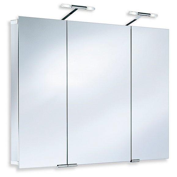hsk alu spiegelschrank asp 300 105 cm tiefenreduziert mit. Black Bedroom Furniture Sets. Home Design Ideas
