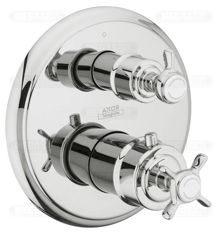 axor montreux thermostat up mit ab und umstellventil 16820000 megabad. Black Bedroom Furniture Sets. Home Design Ideas