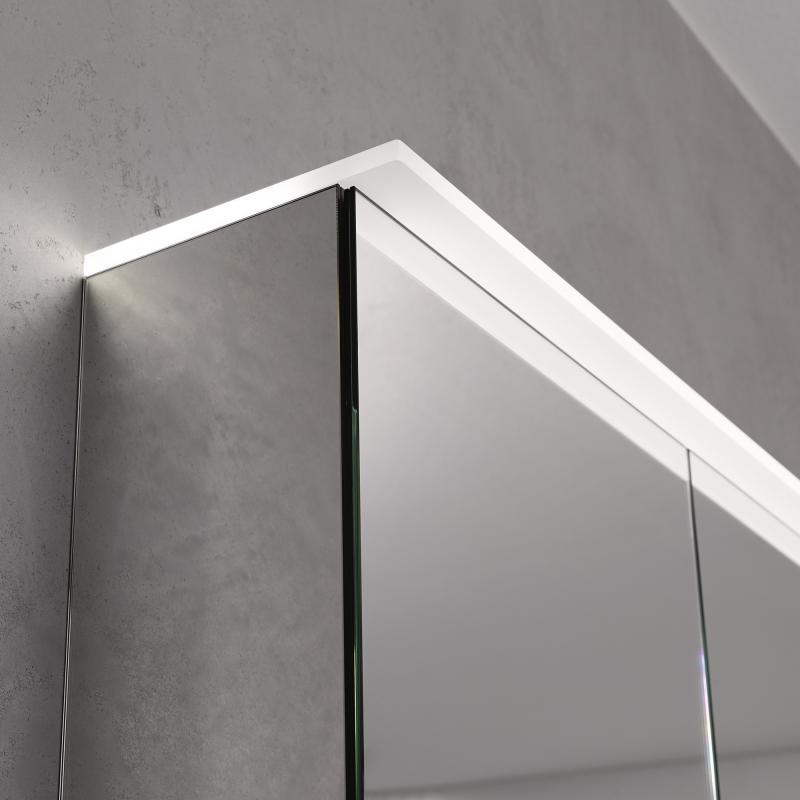 keramag option spiegelschrank plus led 120 cm 800321 megabad. Black Bedroom Furniture Sets. Home Design Ideas