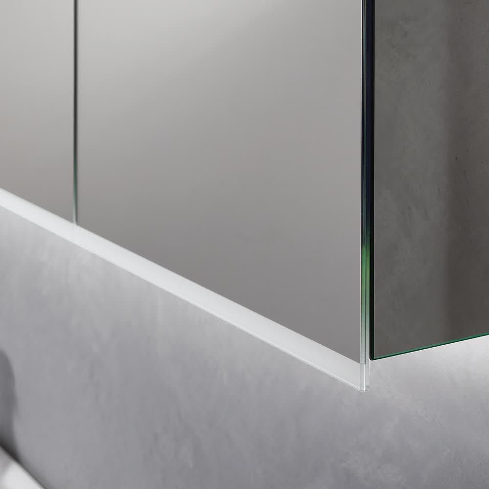 Keramag option spiegelschrank plus led 90 cm 800391 megabad - Spiegelschrank 90 cm ...