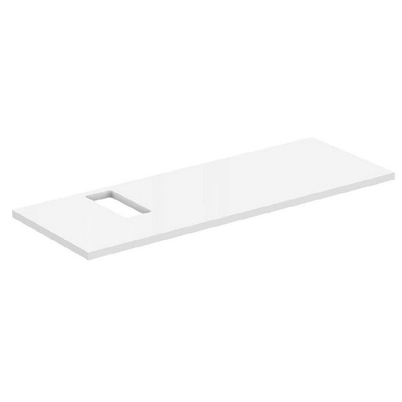 ideal standard strada waschtischplatte 120 cm ausschnitt links art k2665wg megabad. Black Bedroom Furniture Sets. Home Design Ideas