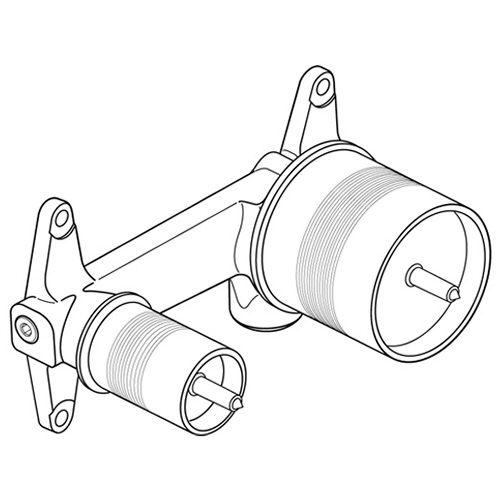 jado ideal standard unterputzk rper f r wand. Black Bedroom Furniture Sets. Home Design Ideas