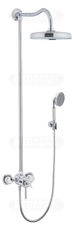 axor montreux showerpipe 16570000 megabad. Black Bedroom Furniture Sets. Home Design Ideas