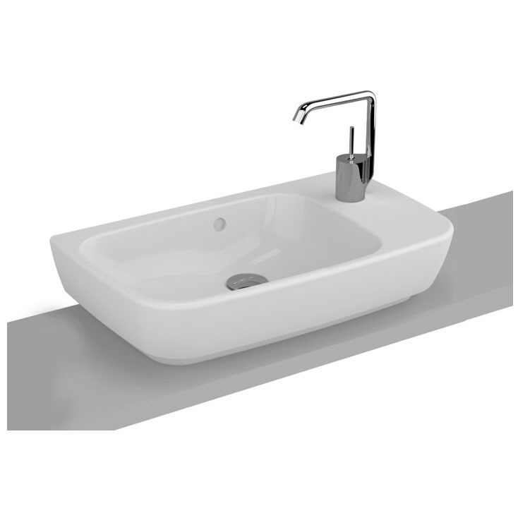 vitra shift waschtisch compact 60 x 34 5 cm ohne hahnloch. Black Bedroom Furniture Sets. Home Design Ideas