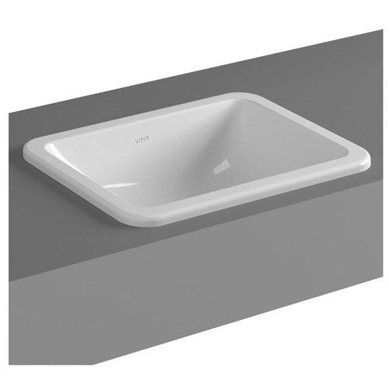 vitra s20 einbauwaschtisch 45 cm art 5473b003 0642 megabad. Black Bedroom Furniture Sets. Home Design Ideas