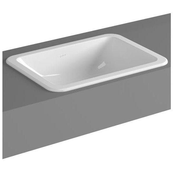 vitra s20 einbauwaschtisch 50 cm art 5474b003 0642 megabad. Black Bedroom Furniture Sets. Home Design Ideas