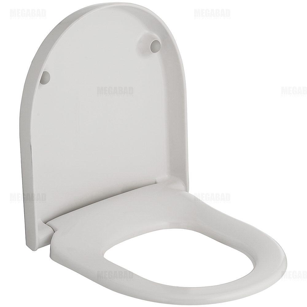 villeroy boch subway wc sitz compact mit absenkautomatik megabad. Black Bedroom Furniture Sets. Home Design Ideas