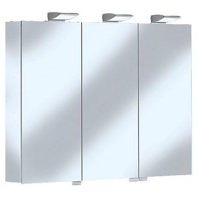 keuco royal 35 spiegelschrank 100 x 74 cm 13503171301 megabad. Black Bedroom Furniture Sets. Home Design Ideas