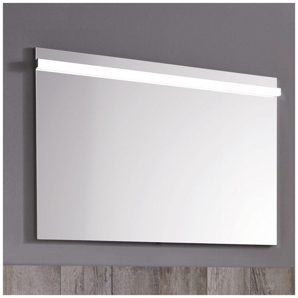 Super Puris Ace Flächenspiegel 100 x 5,9 x 72 cm, mit LED Beleuchtung  VW59