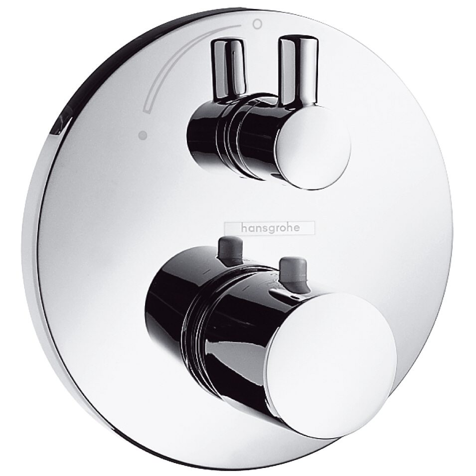 hansgrohe ecostat unterputz thermostatbatterie mit. Black Bedroom Furniture Sets. Home Design Ideas