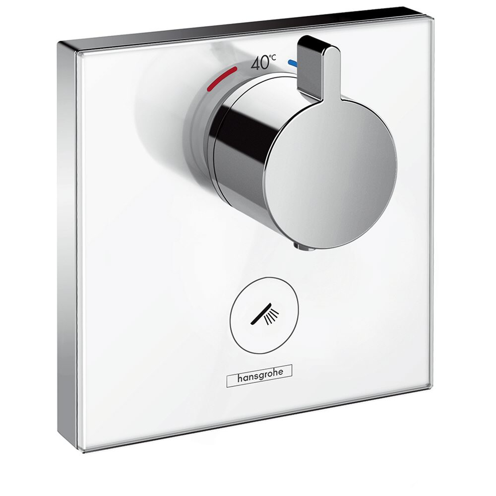 hansgrohe showerselect glas thermostat highflow unterputz. Black Bedroom Furniture Sets. Home Design Ideas