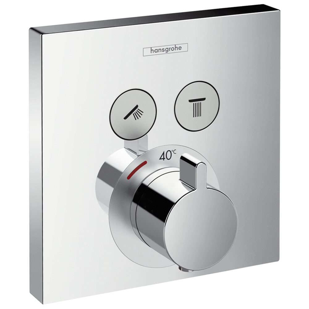hansgrohe showerselect thermostat unterputz 15763000 megabad. Black Bedroom Furniture Sets. Home Design Ideas