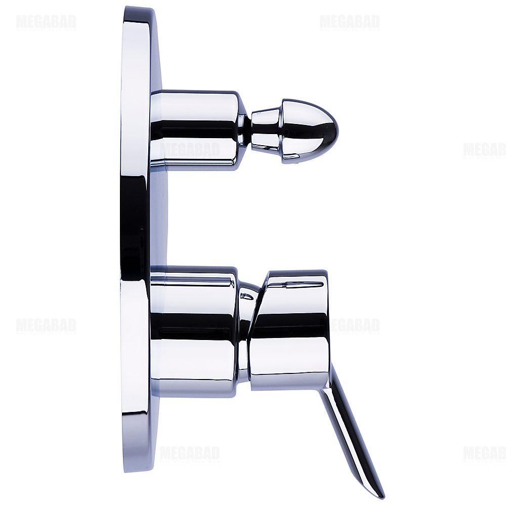 hansgrohe focus s wannenmischer unterputz fertigset 31743000 megabad. Black Bedroom Furniture Sets. Home Design Ideas