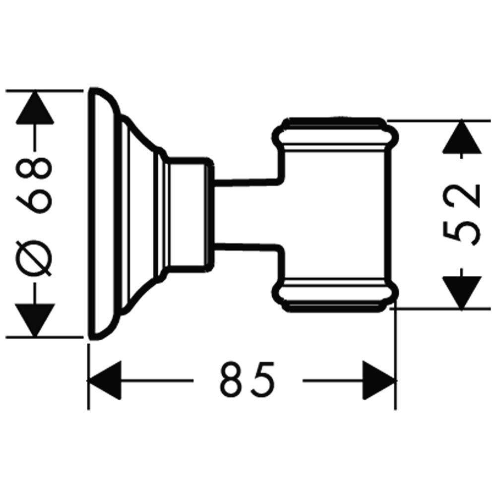 Dusche Brausehalter : Axor Montreux Brausehalter 16325 – MEGABAD