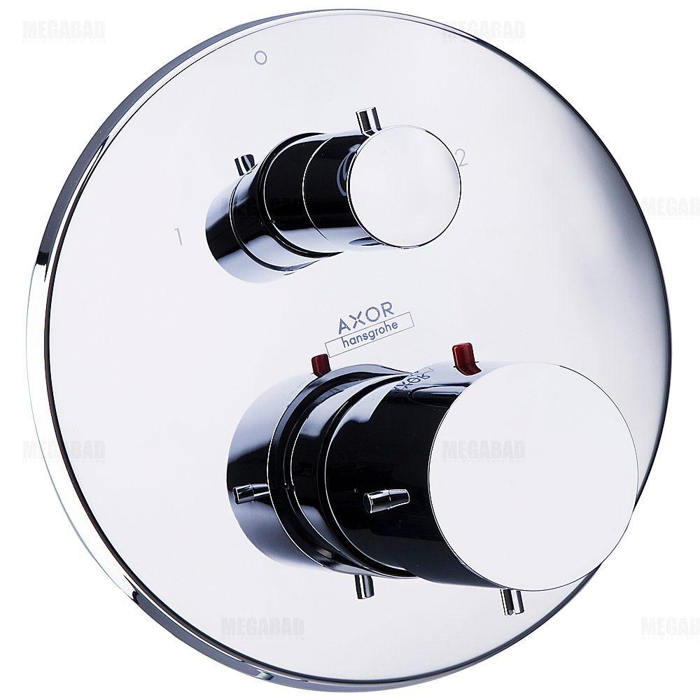 axor starck 10720000 thermostatbatterie up m ab umstellventil megabad. Black Bedroom Furniture Sets. Home Design Ideas