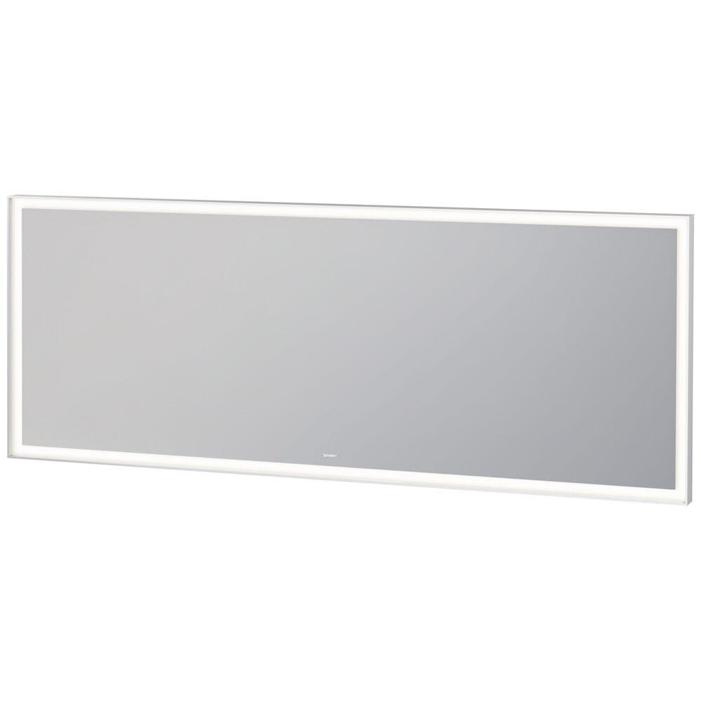 duravit l cube spiegel mit led beleuchtung 180 x 70 cm lc738600000 megabad. Black Bedroom Furniture Sets. Home Design Ideas