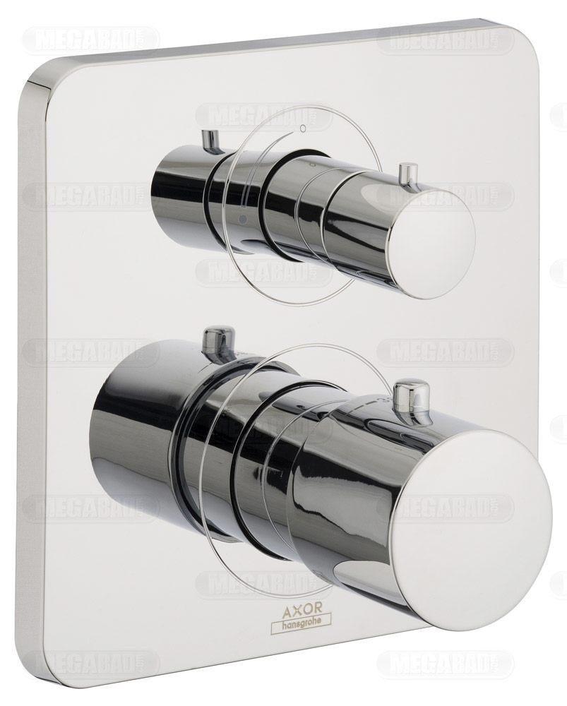 Dusche Brausehalter : Axor Citterio M UP-Thermostat mit Absperrventil – MEGABAD