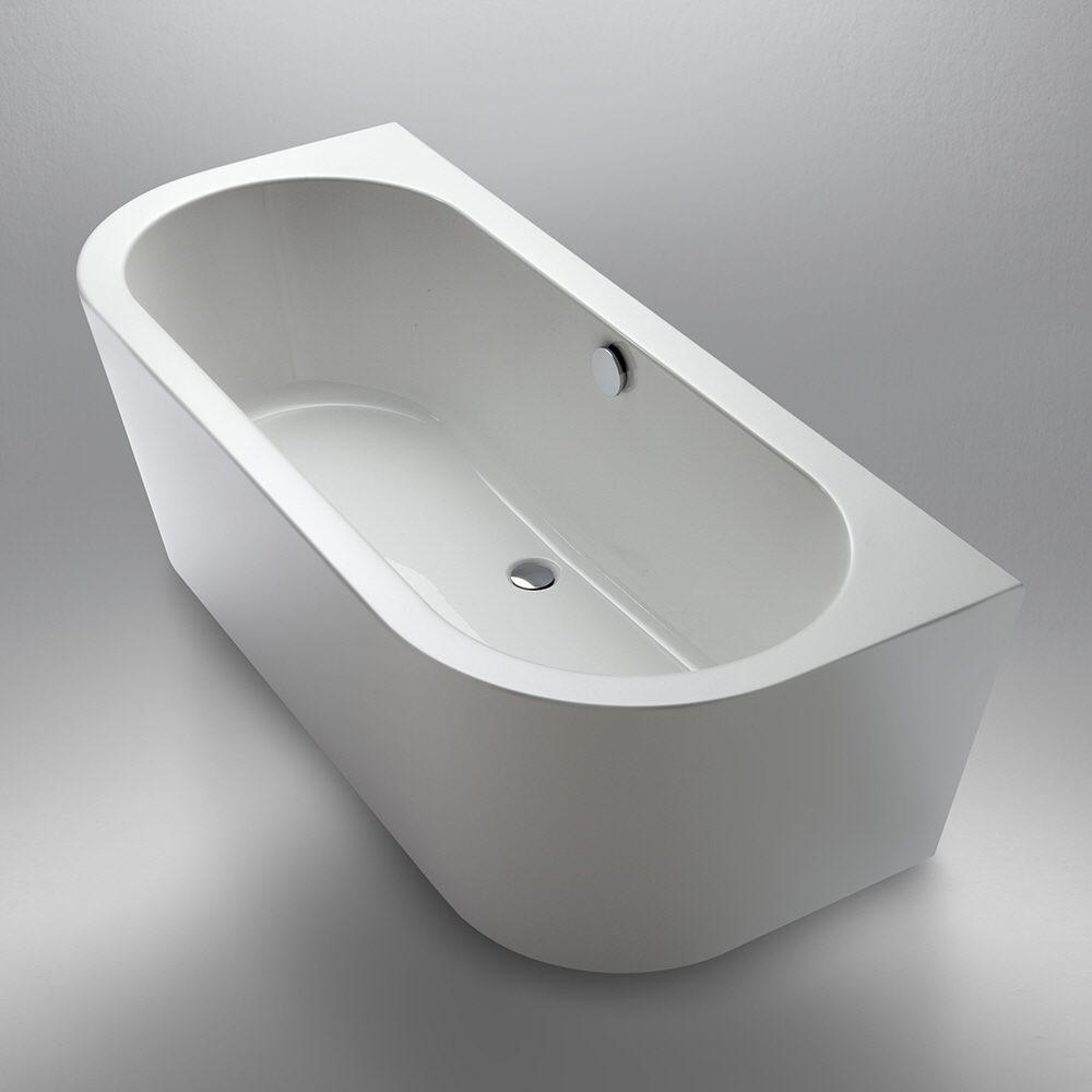 Steinkamp Living freistehende Vorwand-Badewanne 180 x 80 cm ST010W ...