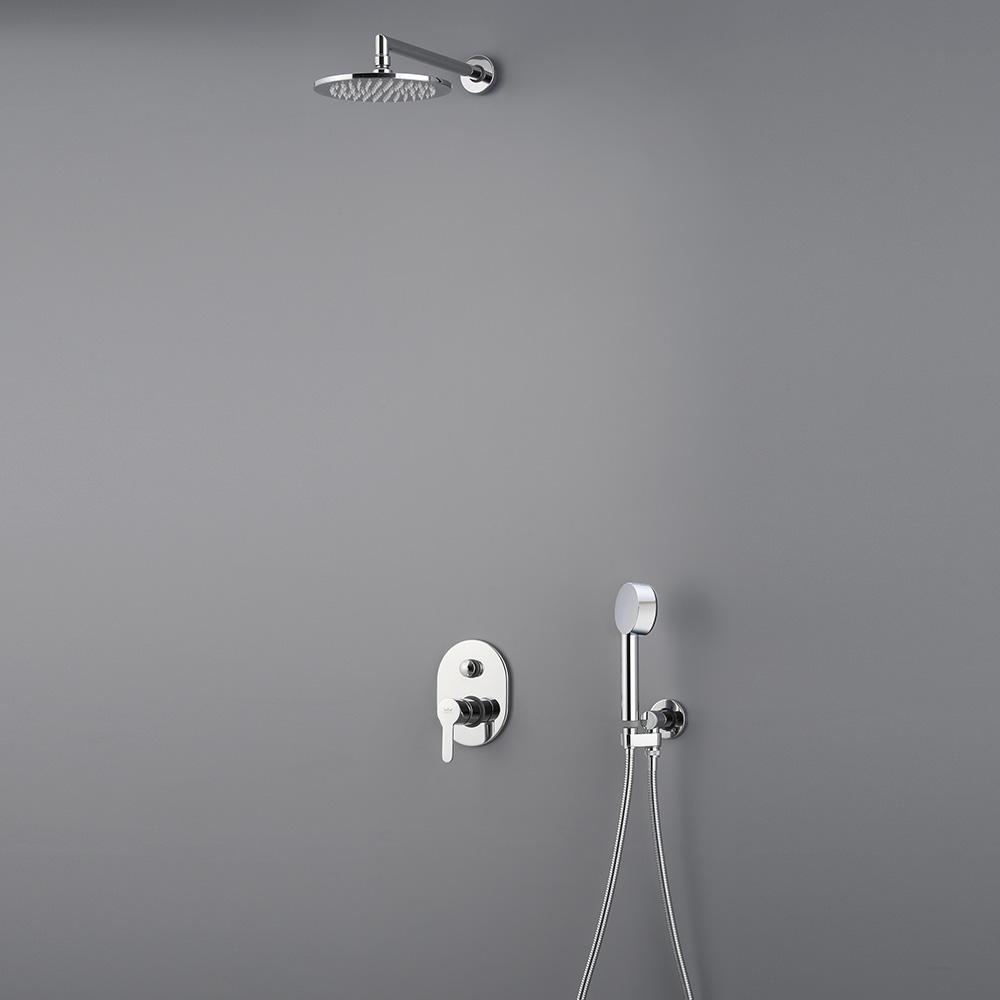 kronenbach pica brause komplett set 420439set megabad. Black Bedroom Furniture Sets. Home Design Ideas