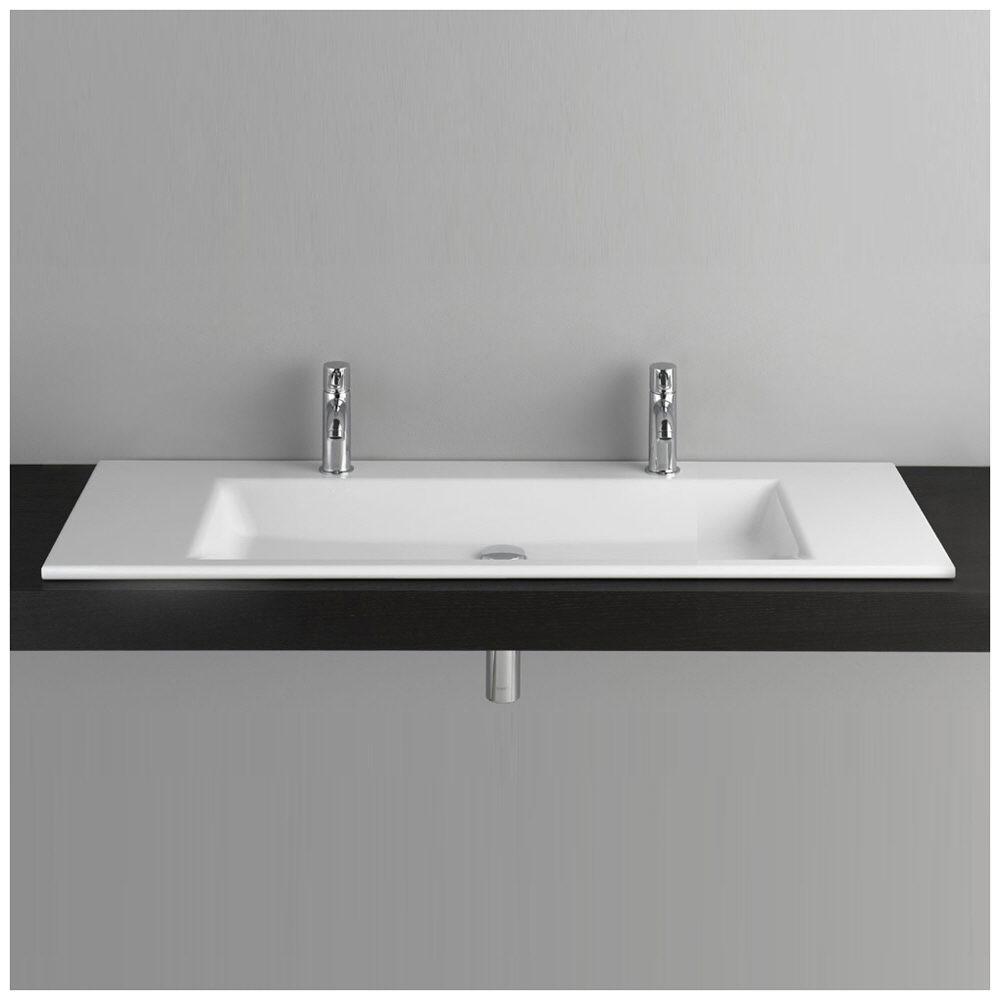 bette betteaqua einbauwaschtisch 120 x 49 5 cm mit 2. Black Bedroom Furniture Sets. Home Design Ideas