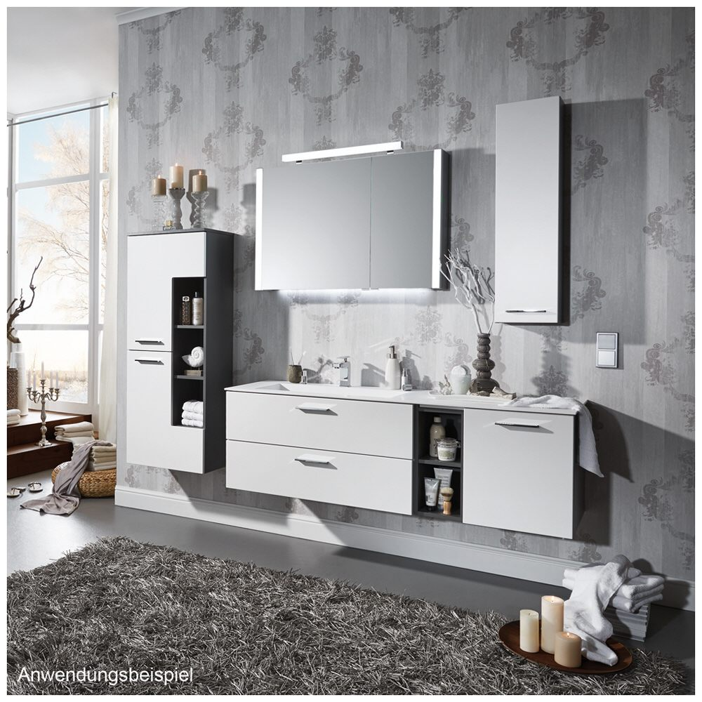 puris milano stoneplus waschtisch 150 cm ablage rechts wms225r61 megabad. Black Bedroom Furniture Sets. Home Design Ideas