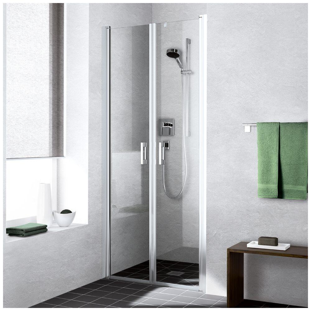 kermi liga doppel-pendeltür 95 cm für duschplatz liptd095201ak