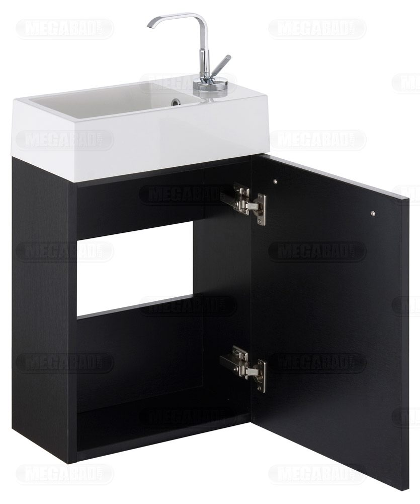 megabad classic 100 m belkombination f r kleine g ste wc. Black Bedroom Furniture Sets. Home Design Ideas