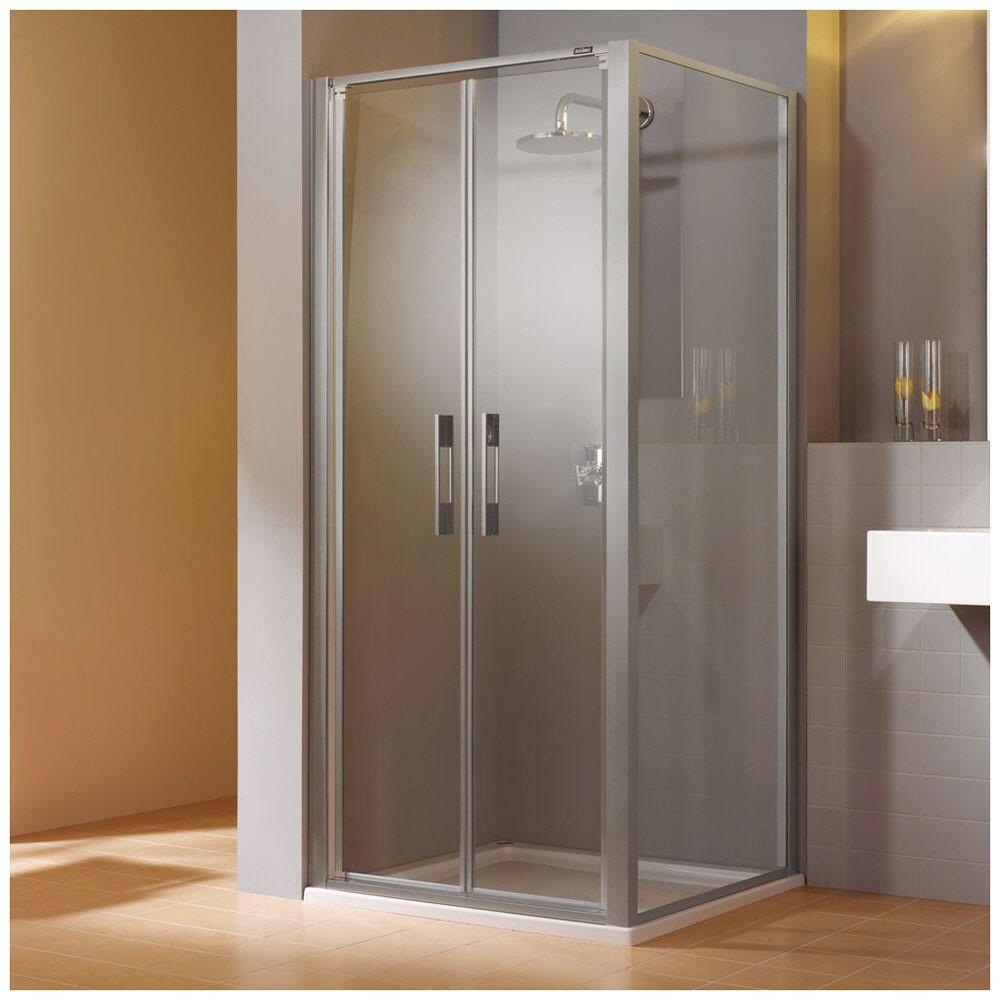 duscholux carat pendelt r 2 fl gelig 90 x 190 cm megabad. Black Bedroom Furniture Sets. Home Design Ideas