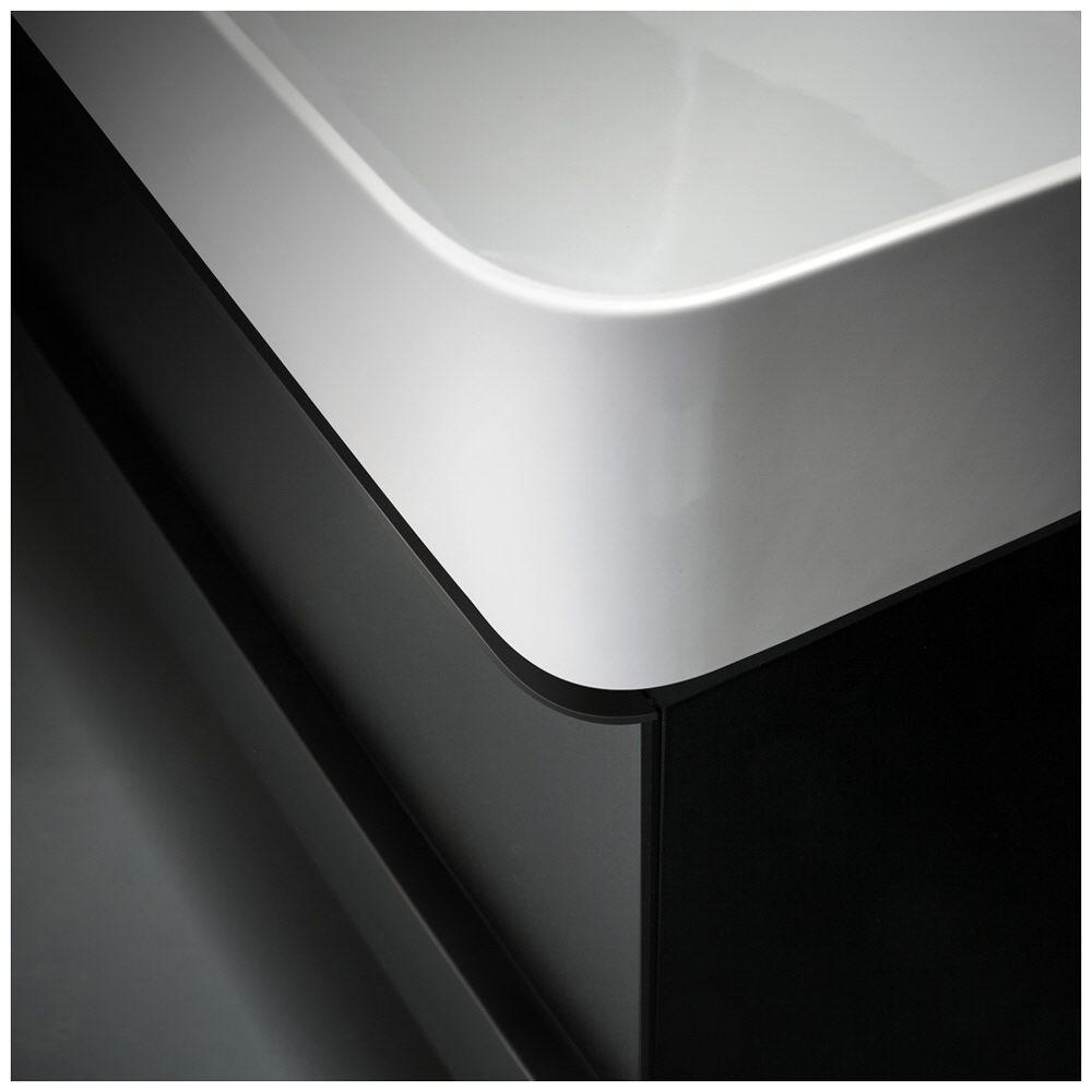 laufen val waschtisch unterbauf hig 75 x 42 cm mit 1 hahnloch mit berlauf 8102850001041 megabad. Black Bedroom Furniture Sets. Home Design Ideas