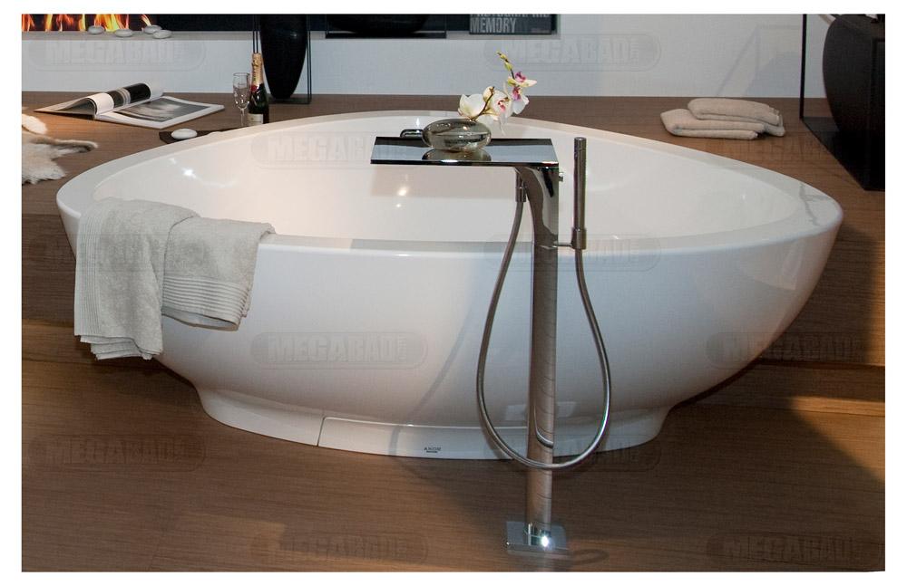 hansgrohe axor massaud freistehende badewanne megabad. Black Bedroom Furniture Sets. Home Design Ideas