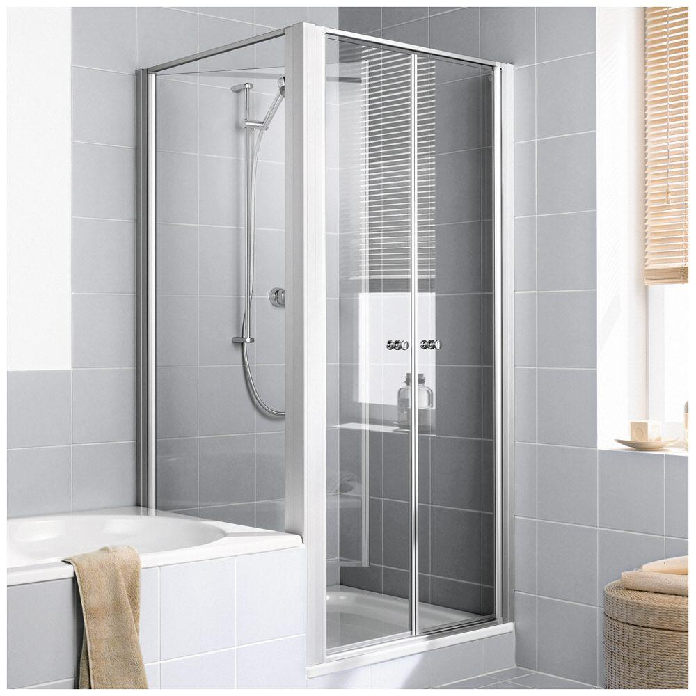 kermi ibiza 2000 seitenwand verk rzt beweglich neben badewanne 70 cm anschlag links. Black Bedroom Furniture Sets. Home Design Ideas
