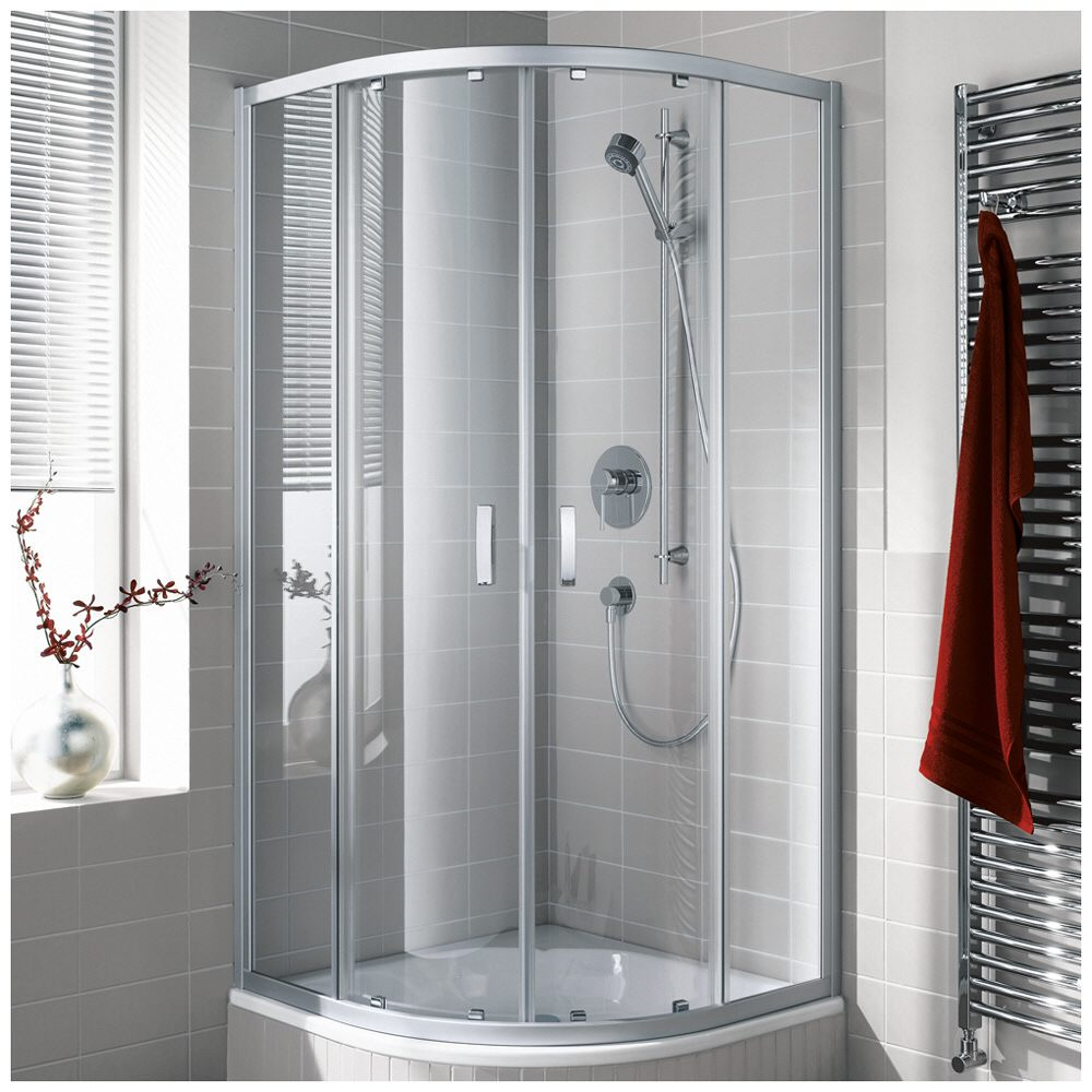 kermi ibiza 2000 viertelkreis duschkabine mit gleitt ren 120 x 90 cm i2t20v72201ak megabad. Black Bedroom Furniture Sets. Home Design Ideas