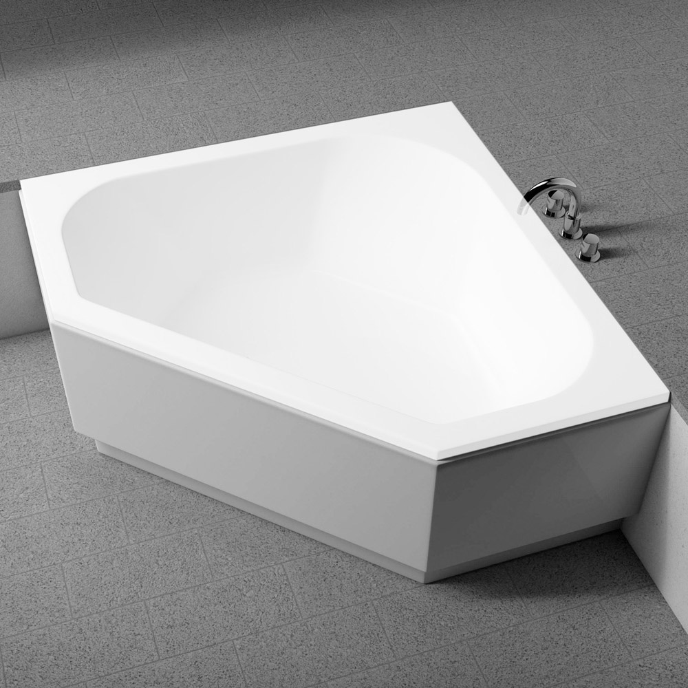 koralle sch rze f r t200 eckbadewanne 145 cm megabad. Black Bedroom Furniture Sets. Home Design Ideas