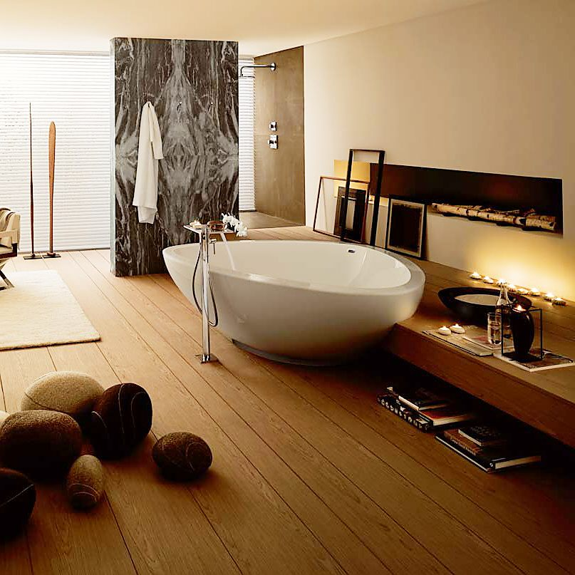 hansgrohe axor massaud freistehende badewanne megabad. Black Bedroom Furniture Sets. Home Design Ideas