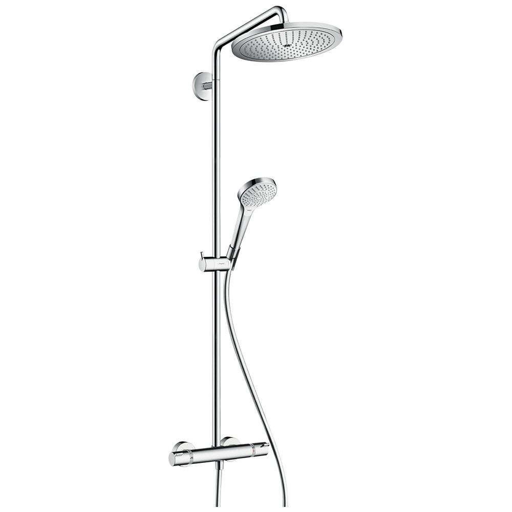 hansgrohe croma select 280 air 1jet showerpipe 26790000. Black Bedroom Furniture Sets. Home Design Ideas