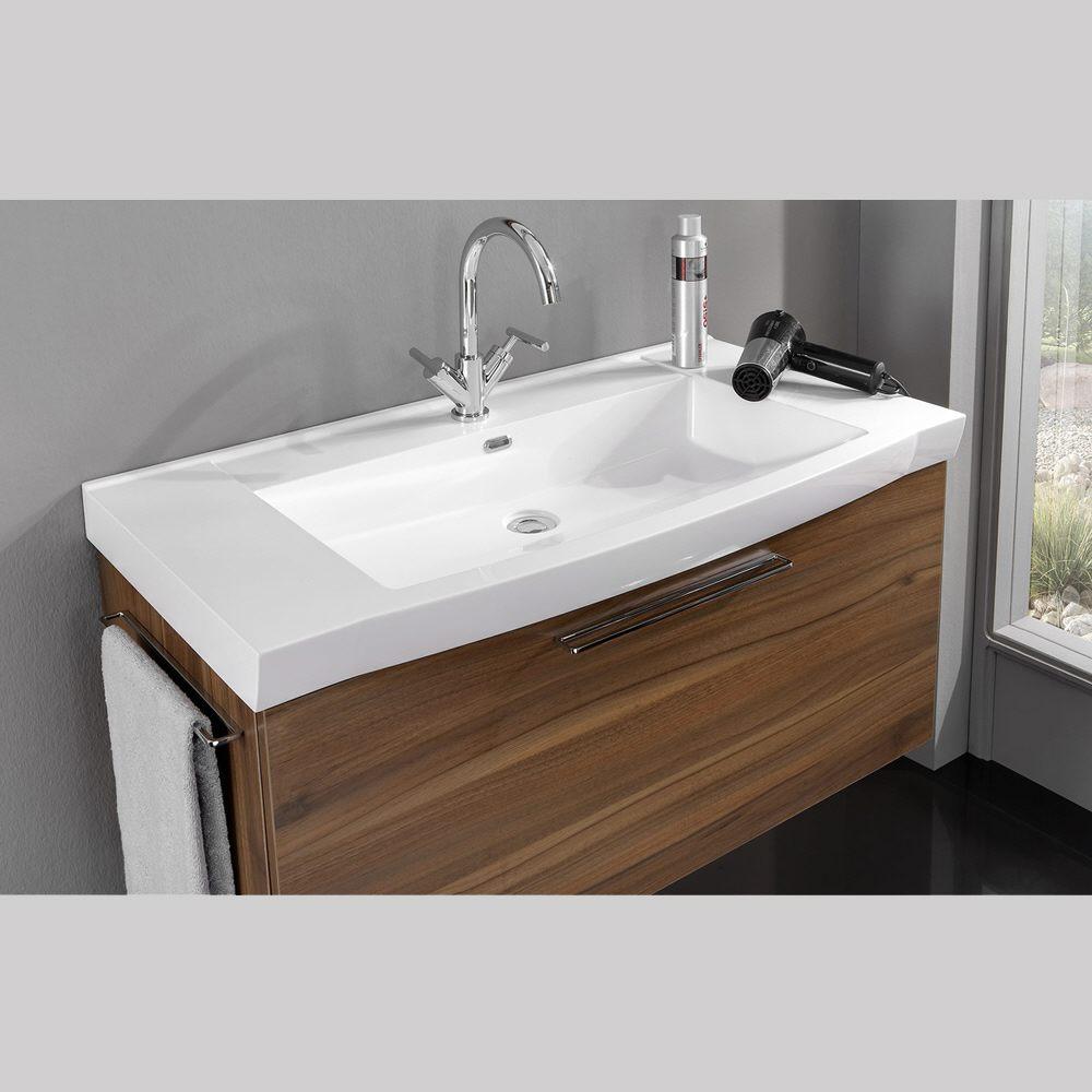 Badea Futura Möbelwaschtisch mit Überlauf 100 cm BMWT100FU2 - MEGABAD