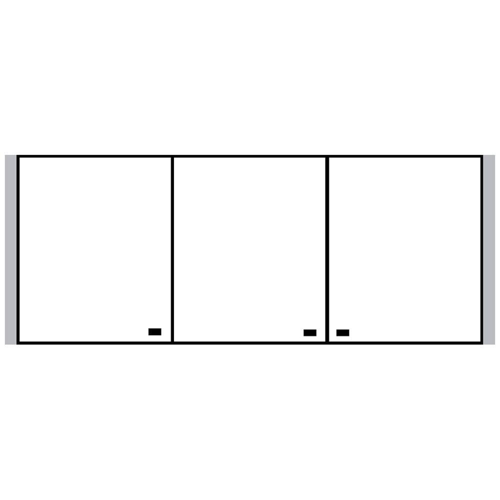 sprinz spiegelschrank elegant line 160 x 70 cm. Black Bedroom Furniture Sets. Home Design Ideas