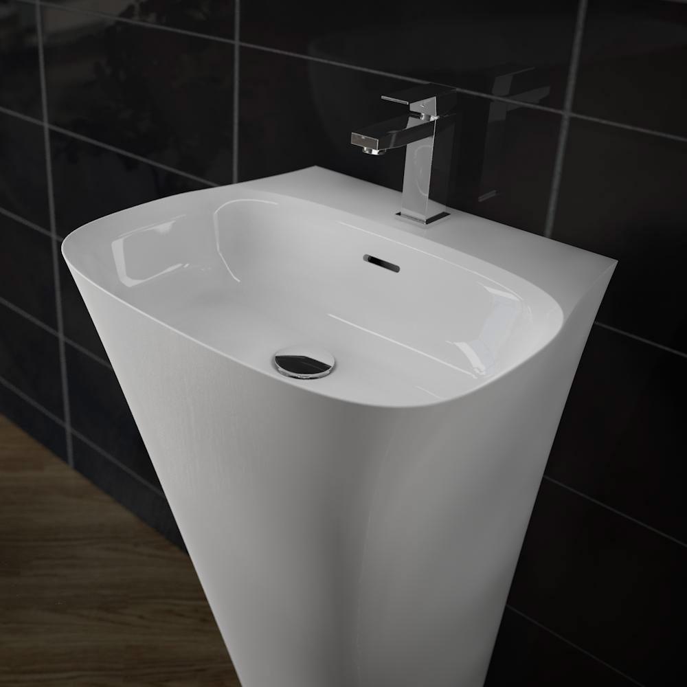 treos serie 730 mineralguss design standwaschbecken. Black Bedroom Furniture Sets. Home Design Ideas