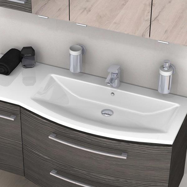 pelipal lunic mineralmarmor waschtisch 110 6 cm lu mmwtr486 1106 03 megabad. Black Bedroom Furniture Sets. Home Design Ideas