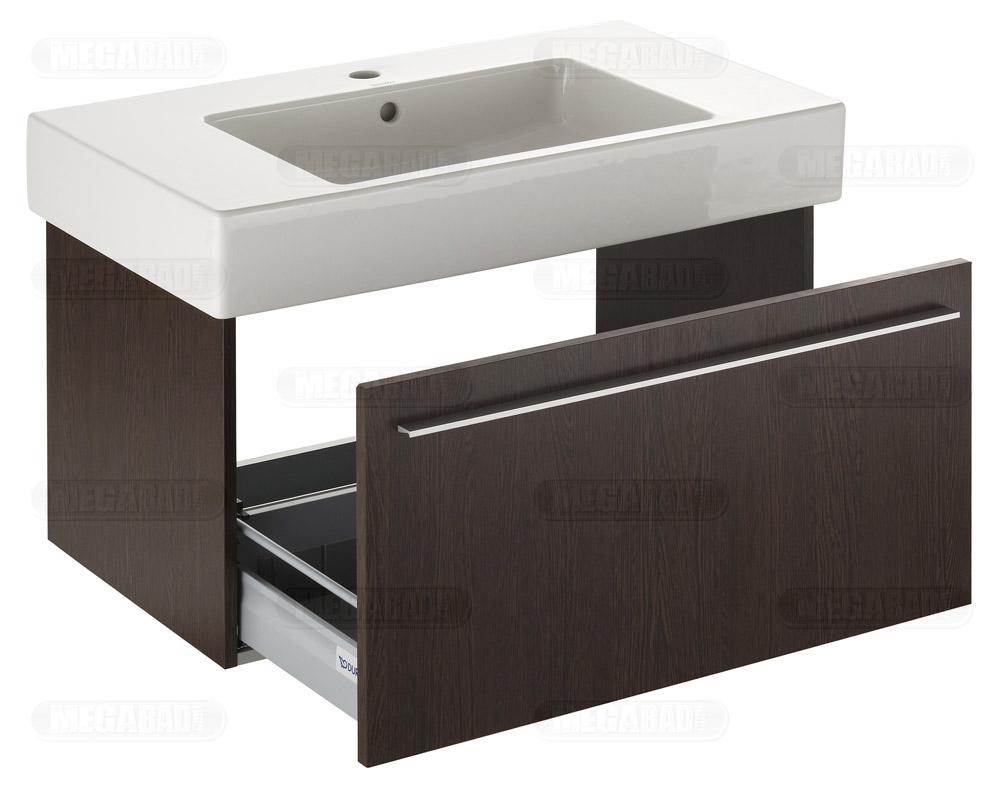 duravit x large waschtischunterbau zu vero waschtisch xl6052 02222 megabad. Black Bedroom Furniture Sets. Home Design Ideas