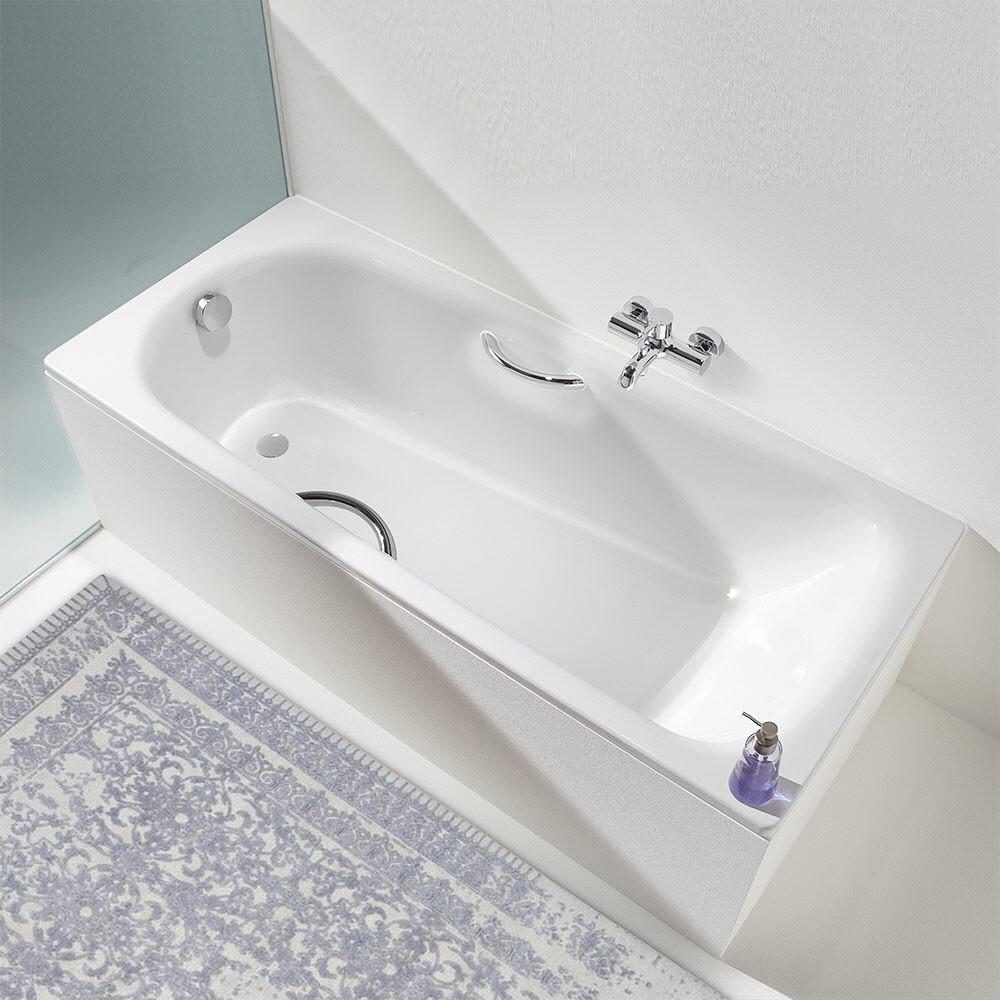 Badewanne Hersteller kaldewei saniform plus 344 badewanne 140 x 75 cm mit