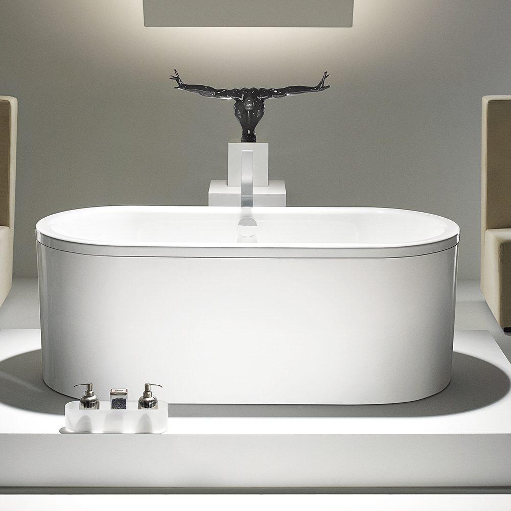 freistehende badewanne kaldewei as57 hitoiro. Black Bedroom Furniture Sets. Home Design Ideas