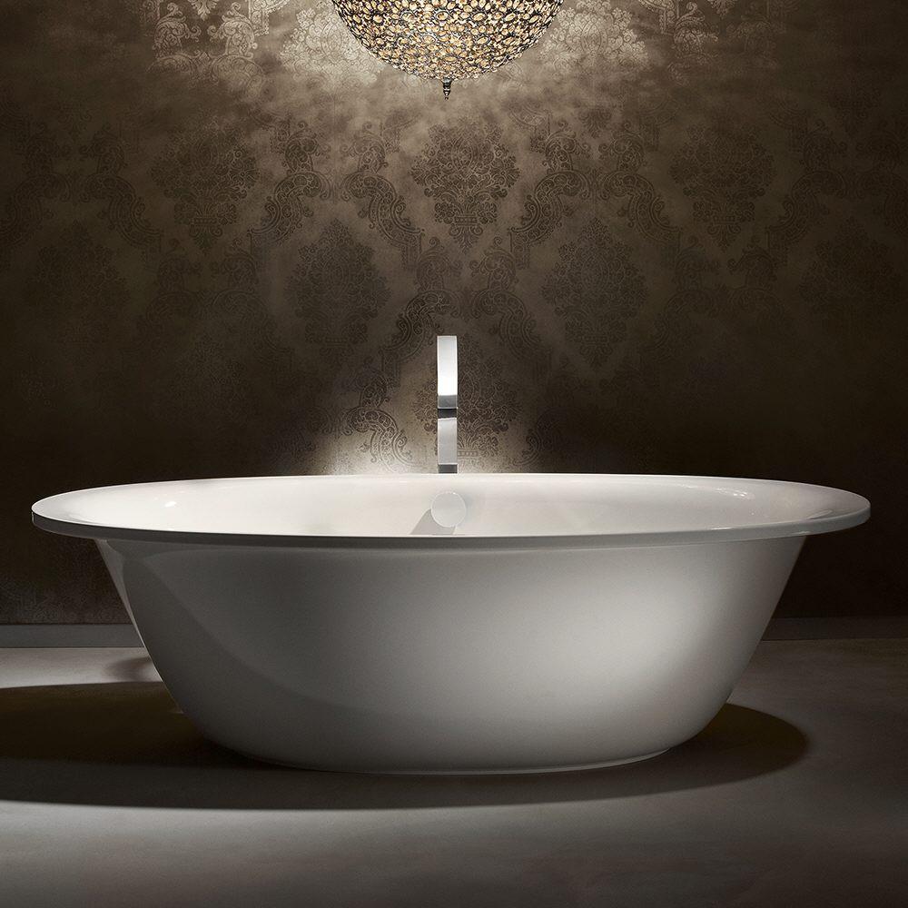 kaldewei ellipso duo oval 232 7 freistehende badewanne mit verkleidung megabad. Black Bedroom Furniture Sets. Home Design Ideas
