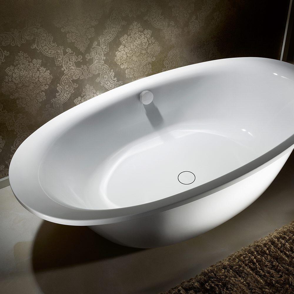 kaldewei ellipso duo oval 232 7 freistehende badewanne mit. Black Bedroom Furniture Sets. Home Design Ideas